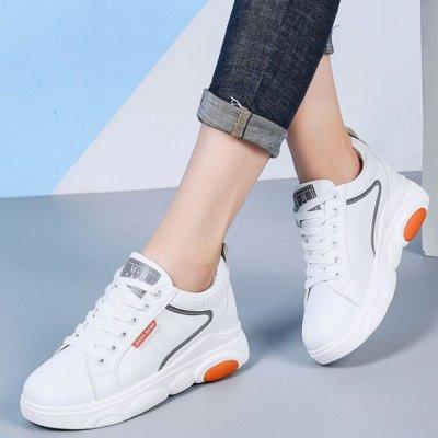 Кожаная обувь по отличной цене! Туфли, кроссовки, сандалии — Женские кроссовки/кеды — Кожаные