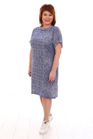 Платье легкое, голубой