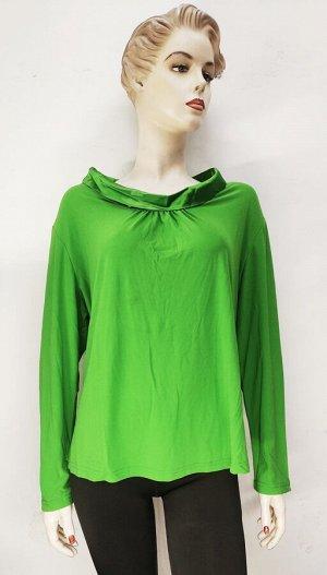 Блуза зеленая