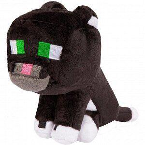 Плюшевый дымчатый кот Tuxedo Cat 23 см