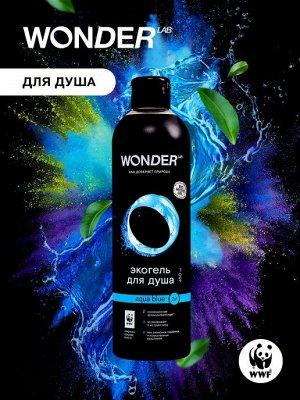Экогель для душа 2 в1 WL  Aqua blue  450 мл 1/8