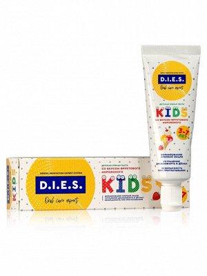 D.I.E.S Зубная паста д/детей фруктовое мороженое 3-7лет 35 мл