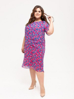 Платье 338-10 шифон