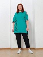 Туника 0228-1 зеленый