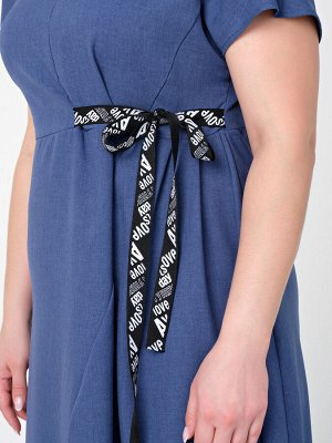 Платье 0083-3 индиго