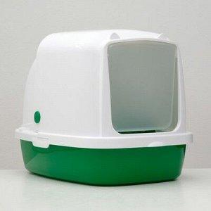 Туалет закрытый «Айша», 53 ? 39 ? 40 см, зеленый