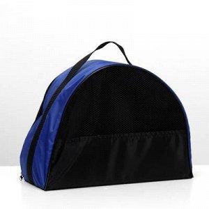 Сумка-переноска малая 36x 17x 25 см, оксфорд, синяя