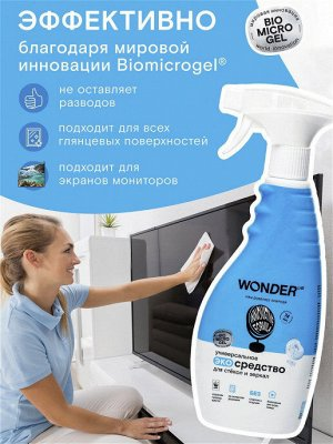 Универсальное экосредство для стёкол и зеркал WL 0,5 л 1/12
