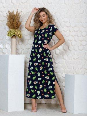 """643 Платье""""авокадо"""""""