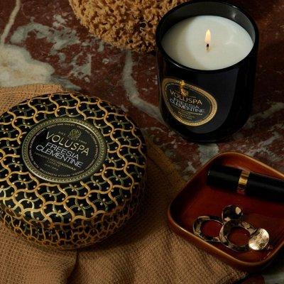 Аромасвечи VOLUSPA💕Волшебный аромат Вашего дома — Свечи VOLUSPA! Темная домашняя коллекция — Свечи и подсвечники