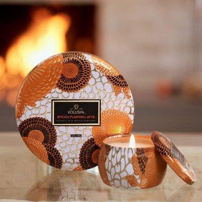 Аромасвечи VOLUSPA💕Волшебный аромат Вашего дома — Свечи VOLUSPA! Сезонная коллекция — Свечи и подсвечники