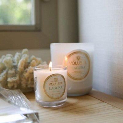 Аромасвечи VOLUSPA💕Волшебный аромат Вашего дома — Свечи VOLUSPA! Светлая домашняя коллекция — Свечи и подсвечники