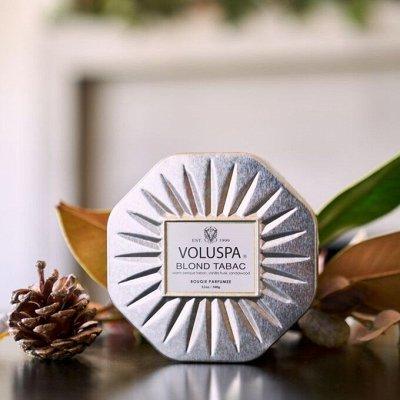 Аромасвечи VOLUSPA💕Волшебный аромат Вашего дома — Свечи VOLUSPA! Позолоченная коллекция — Свечи и подсвечники