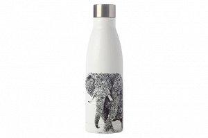 Термос-бутылка вакуумная Африканский слон, 0,5 л