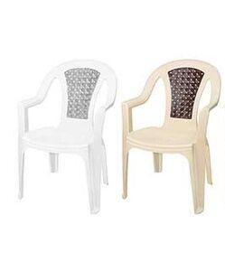 Кресло, пластик, колор, TROPIC ротанг, 850 х 580 х 630 мм, 1/1