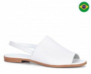 Сандалеты Материал: Кожа натуральная Подкладка: Без подклада Цвет: Белый Страна производства:Бразилия 🔆Важно!!! Заказ автоматически подтверждается только после оплаты, не нужно ждать подтверждения) Вс