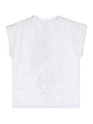 Пижама Состав: 95% хлопок, 5% эластан  Цвет: белый, розовый  Год: 2021 *Комплект: футболка с принтом Hello Kitty, шорты *из качественного эластичного и приятного на ощупь трикотажа *высокое содержа