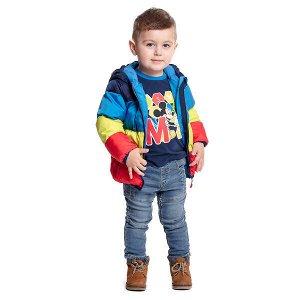 Куртка Состав: Верх- 100% полиэстер, Подкладка- 60% хлопок, 40% полиэстер, Наполнитель- 100% полиэстер, 250 г/м2 Цвет: синий, голубой Год: 2021 *Куртка демисезонная PlayToday со следующими характерис