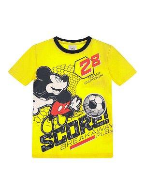 Комплект Состав: 95% хлопок, 5% эластан  Цвет: тёмно-синий, жёлтый  Год: 2021 *Комплект: футболка, шорты *из качественного эластичного и приятного на ощупь трикотажа джерси *высокое содержание хлоп