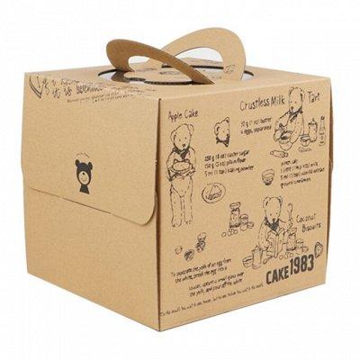 Konditer House. Формы для капкейков и кексов — Упаковка для тортов — Бумага для выпечки