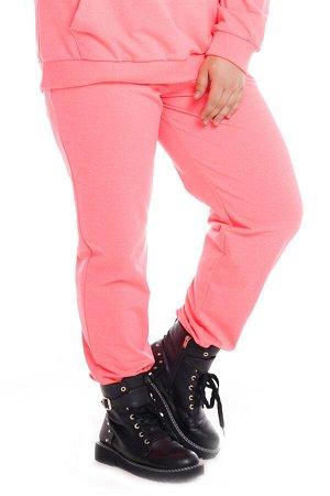 Брюки-4803 Модель брюк: Спортивные; Материал: Трикотаж;   Фасон: Брюки; Параметры модели: Рост 173 см, Размер 54 Брюки спортивные трикотажные розовые Универсальные и невероятно комфортные брюки из мяг