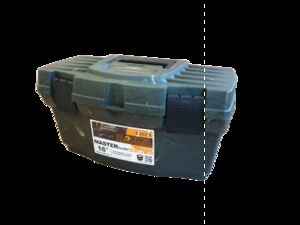 "Ящик MASTER HUNTER 16"" темно-зеленый, 9 л,  230 х 405 х 215 мм, 1/12"