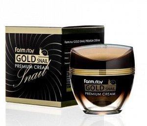 Премиум-крем с золотом и муцином улитки Gold Snail Premium Cream