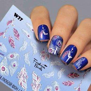 Fashion Nails, Слайдер дизайн White-27