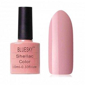 Гель-лак Bluesky №010 камуфлирующий приглушенный бледно-розовый, 10мл