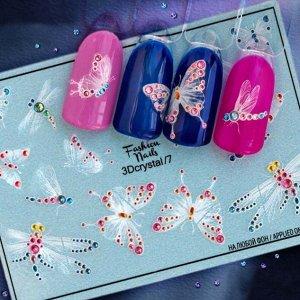 Fashion Nails, Слайдер дизайн 3Dcrystal-07