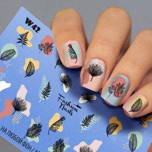 Fashion Nails, Слайдер дизайн White-42