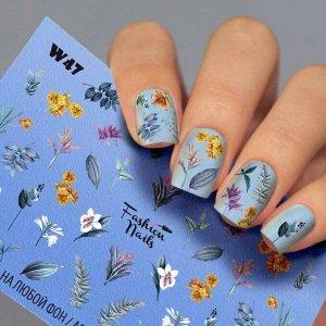 Fashion Nails, Слайдер дизайн White-47