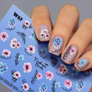 Fashion Nails, Слайдер дизайн White-62