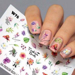 Fashion Nails, Слайдер дизайн White-76