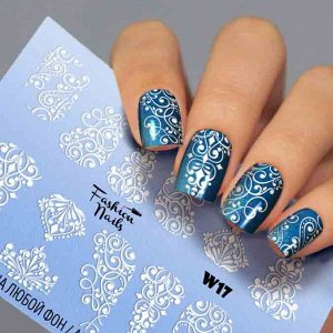 Fashion Nails, Слайдер дизайн White-17