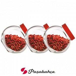 Набор банок для хранения Pasabahce Bella / 3 шт. 200 мл