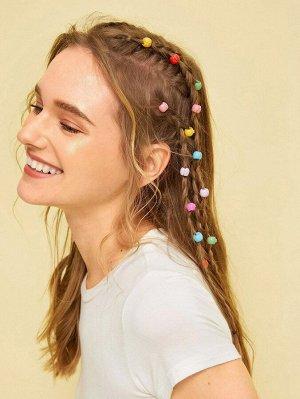 Набор шпилек для волос с косичками 50шт.