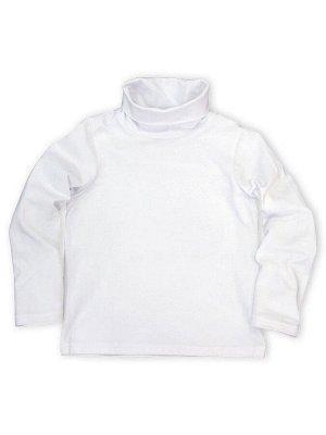 Пуловер с длинным рукавом и высоким одинарным воротом для мальчиков