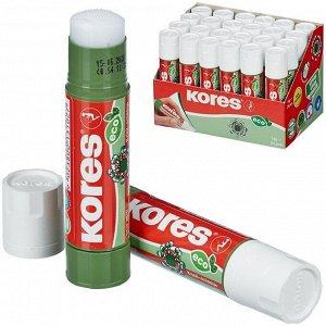 """Клей-карандаш Kores """"Glue-Eco"""", 10г, прозрачный"""