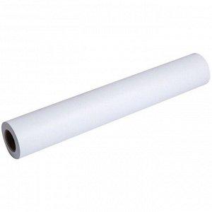 Бумага для плоттера Akzent InkJet, 610мм*45м, 80г/м2, вт. 50,8 мм, 169%