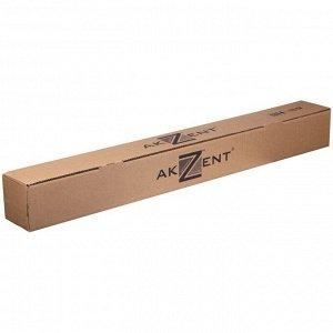 Бумага для плоттера Akzent InkJet, 914мм*45м, 80г/м2, вт. 50,8 мм, 169%