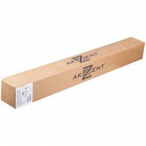 Бумага для плоттера Akzent InkJet, 914мм*45м, 90г/м2, вт. 50,8 мм, 169%