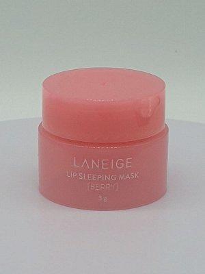 LANEIGE, Lip Sleeping Mask Berry, 3g / Ночная маска для губ с ягодами, 3г.