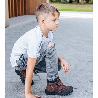 WOOPY Orthopedic Обувь! Правильная обувь — Мальчикам. Демисезон. Ботинки, сапоги — Для мальчиков