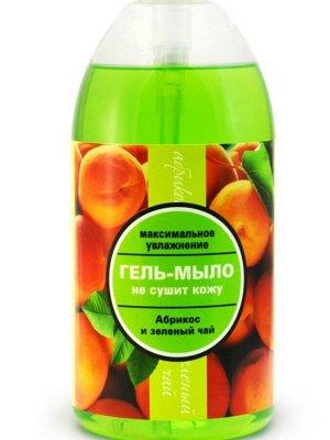 Гель-мыло Абрикос и зеленый чай. Максимальное увлажнение
