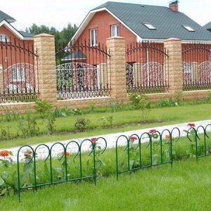 Наша грядка☘️ Парники, агроткань, укрывной материал. — Заборчики — Садовый декор