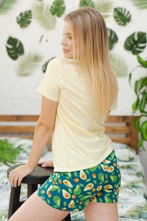 Пижама с шортами ПЖ 011 (Avo sleep)