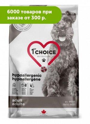 1'st Choice Hypoallergenic Grain Free сухой корм для собак всех пород Утка 4,5кг