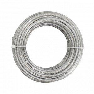"""Леска для триммера """"Металл+тросик"""" Ø3 мм x 15 м"""