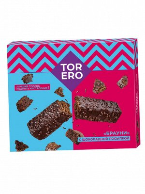 Вафельные палочки «Брауни» в глазури с шоколадной посыпкой 180г